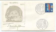1971 Juri Gagarin Berlin 2 Briefmarken Ausstellung 10 Jahre Deutsche NASA SPACE
