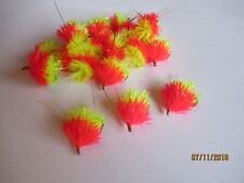 3X NEW CANDY T-15 JELLY FABS FLY FISHING TROUT FLIES LURES SIZE 8 KAMASAN B160