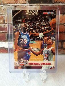 1993 94 Michael Jordan Hoops 5th Anniversary All Star Basketball Card #257 BGS ?