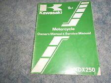 1983 Kawasaki KDX250 B3 Owners Service Manual