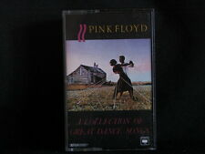 Pink Floyd. A Collection Of Great Dance Songs. Cassette Tape. 1981. Australia.