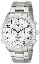 Bulova Precisionist White Dial SS Chronograph Quartz Mens Watch 96B183