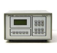 Voltech PM100 Leistungs-Meßgerät / Power Analyzer, Harmonics / THD bis 250 kHz