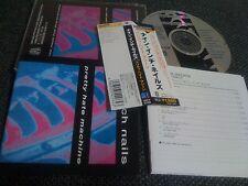 NINE INCH NAILS/ pretty hate machine/  JAPAN LTD CD OBI pt.2