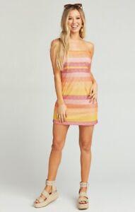 SHOW ME YOUR MUMU Clarissa Dress in Fiesta Stripe (Size S)