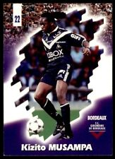 Panini Foot Cards 98 - Kizito Musampa Bordeaux No. 22