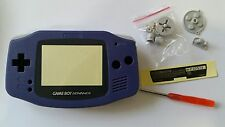 CARCASA COMPLETA+PANTALLA COMPATIBLE GAME BOY ADVANCE BLUE NEW/NUEVO