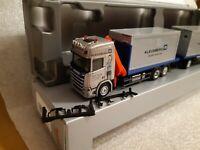 Scania CR20  Kleusberg  Mietcontainer GmbH 57537 Wissen  + Ladekran 939928