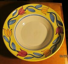 "Lamas Ceramic ~ Mixing, Vegetable/Serving, Pasta Bowl 11 3/4"" x 4""~ Italy"