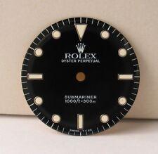 Genuine Rolex Submariner Tritium Dial Black 14060 non-date original cal 3000