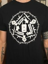 Dummy Plug Conspiracy Mandala Shirt Atari Teenage Riot DHR Gabber Hardcore Noise