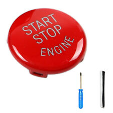 Red Engine Start Stop Switch Button Cover For BMW E60 E70 E90 E92 E93 3 Series