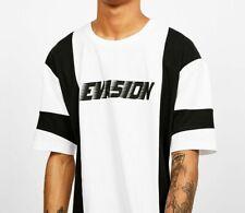 Bershka T-shirt with Evasion Print , White - BNWT Size S