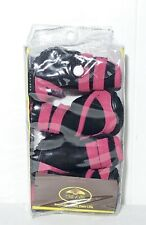Pet Life Paw Wear Pink And Black Thinsulate Warm Dog Shoes Size Small