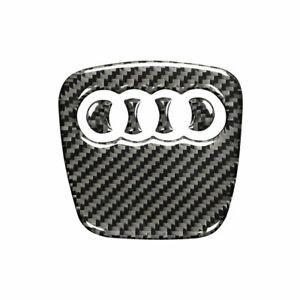 For Audi A3 A4 Q5 Q7 Carbon Fiber Steering Wheel Insert Badge Emblem Stickers