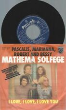 "7""  Pascalis, Marianna, Robert And Bessy ‎– Mathema Solfege // MADE IN AUSTRIA"