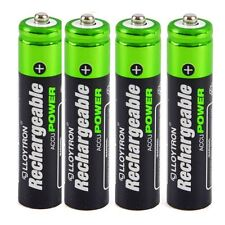 Lloytron AAA 550 mAh NiMH accudigital Battery Pack di 4 (Modello No. B014)