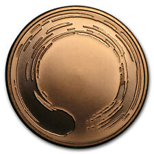 2017 1 oz Copper Shield Round - MiniMintage (Enso)