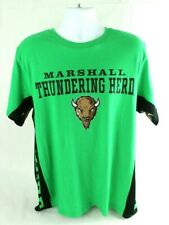 NCAA Hands High XL Marshall Thundering Herd Green T-shirt NEW FREE SHIPPING