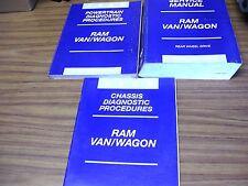 USED 2002 RAM VAN/WAGON MANUALS  81-370-02002