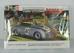 Revell Competition PORSCHE w/ Racing Trim Model Kit New ~NEW IN SEALED BOX USA