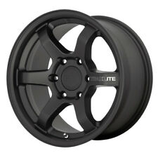 """4-Motegi MR150 Trailite 16x8 6x5.5"""" +0mm Satin Black Wheels Rims 16"""" Inch"""