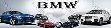 "BMW Personalized Name Poster Banner (8.5 x 30"") in Glossy Photo Paper"