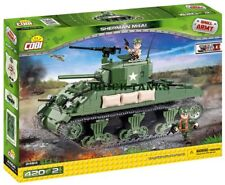 Sherman M4A1 - COBI 2464 - 400 brick tank set