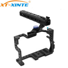 Protective Housing Case Handle Grip Rugged Cage Kit For GH3 GH4 DSLR Rig Camera