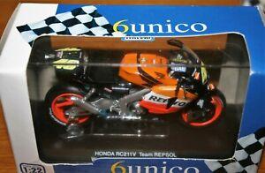 VALENTINO ROSSI HONDA RC211V 2003 PROTAR/6UNICO MODEL 1:22 - Rare