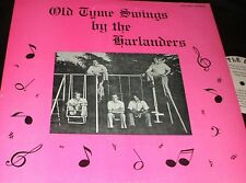 THE HARLANDERS Old Tyme Swings LP PRIVATE MN POLKA SWINGS SWING SET WEIRD COVER