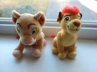 "Disney The Lion Guard Plush LOT Kion Nala Lion King 7"" Stuffed Animal Set Of 2"