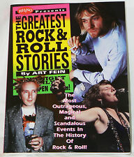 Rhino Presents - The Greatest Rock and Roll Stories - Art Fein (1995 pb)