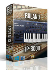 ROLAND JP-8000 8000 LIBRARY LOGIC PRO KONTAKT MPC WAV SAMPLES MAC PC