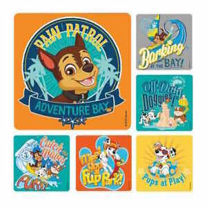 25 Paw Patrol  Stickers Party Favors Teacher Supply adventure Bay