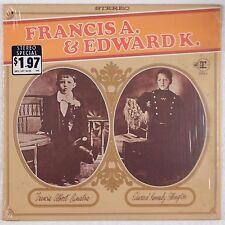 FRANCIS A & EDWARD K: Sinatra / Ellington SHRINK Reprise Jazz ORIG lp Stereo NM