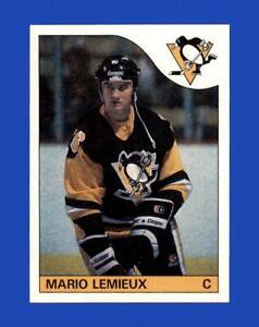 1985-86 Topps Set Break # 9 Mario Lemieux NR-MINT *GMCARDS*