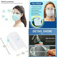 10 x Face Shield Protection Anti-Splash Face Cover Anti-Fog Glasses