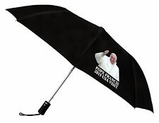 Pope Francis Visit Commemorative Folding Umbrella - Black