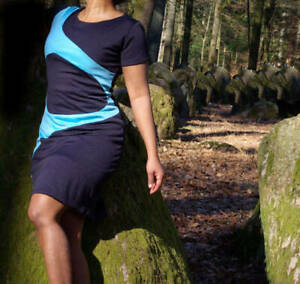 Dezentes Pencil - Kleid / Minikleid / Etuikleid / Stretchkleid / Bürokleid