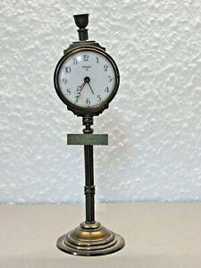 Antiker Wecker - Uhr - Bahnhofuhr - SWIZA 8 - Tischuhr