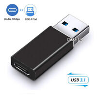USB 3.1 Type C Female to USB 3.0 Type A Male Adapter Converter Cable Connector