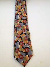 Christian Dior 100% Silk Abstract Mens Traditional NeckTie