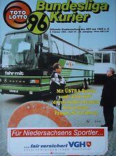 Programm 1992/93 Hannover 96 - SC Freiburg