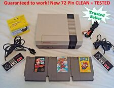 Nintendo NES Console System Bundle NEW PIN Game lot Super Mario 1 2 3 GUARANTEE