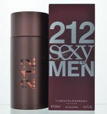 212 Sexy By Carolina Herrera For Men Eau De Toilette  3.4 OZ Spray