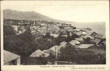 Guadeloupe Basse-Terre Birdseye View of Village c1920 Postcard jrf