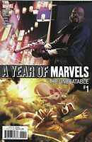 Year of Marvels Unbeatable Comic 1 Cover A 2016 Chad Bowers Chris Sims Geoffo