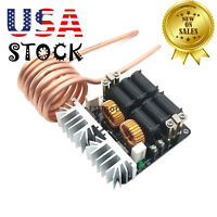 1000W 20A Low Voltage Induction Heating Board Module Flyback Driver Heater USA