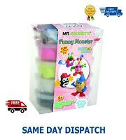 MESS FREE SUPER DOUGH SUPER LIGHT WEIGHT MODELLING CLAY FOR CHILDREN 6 PACK